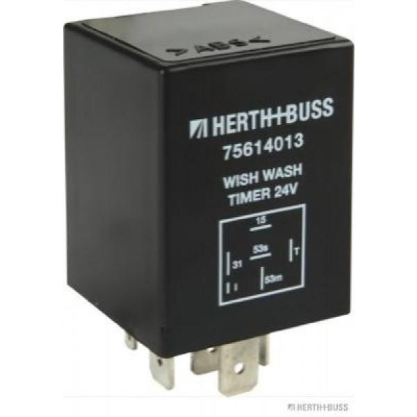 Relay, wipe-/wash interval HERTH+BUSS ELPARTS 75614013-01