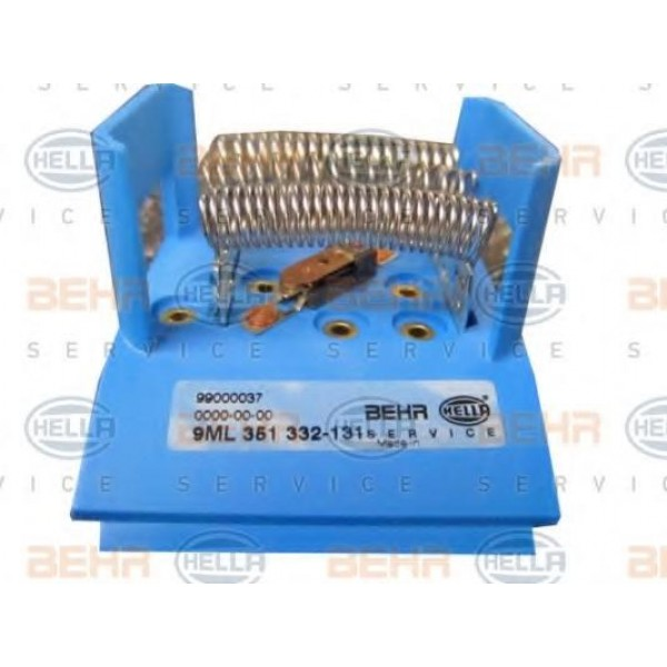 Resistor Interior Blower For Bmw 3 Z3 Z8 Hella