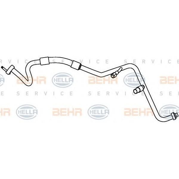 Focus C-Max HELLA Air Conditioning //AirCon //AC Condenser Hose for Ford Focus