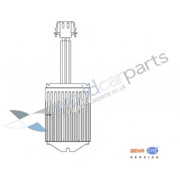 Heater Blower Regulator for Audi, Seat, Skoda, VW