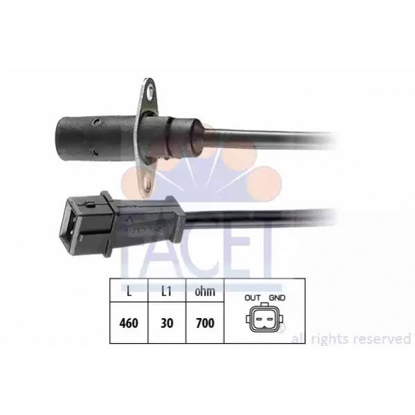 Crankshaft Position Sensor FACET 9.0001-01
