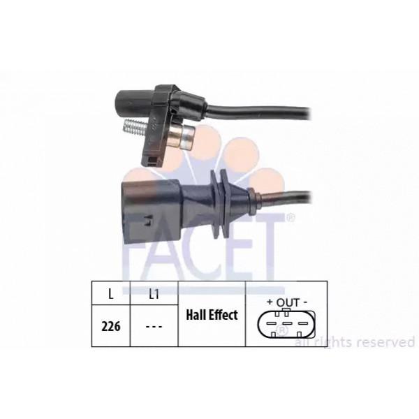 Crankshaft Position Sensor FACET 9.0759-01