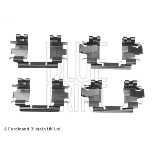 Brake Pad Fitting Kit BLUE PRINT ADH248601-00