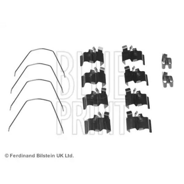 Front Brake Pad Fitting Kit BLUE PRINT ADK848601-00