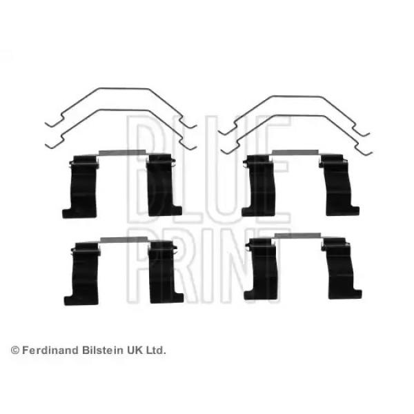 Front Brake Pads Fitting Kit BLUE PRINT ADM548602-00