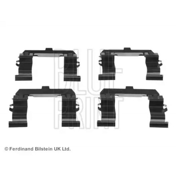 Front Brake Pads Fitting Kit BLUE PRINT ADM548604-00