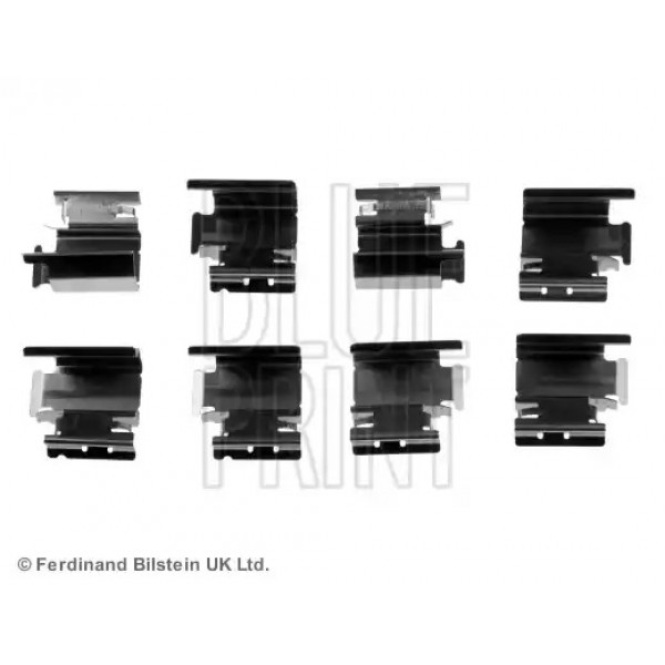 Front Brake Pad Fitting Kit BLUE PRINT ADT348600-00