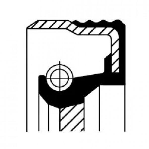 Shaft Seal, automatic transmission CORTECO 19036709B-00
