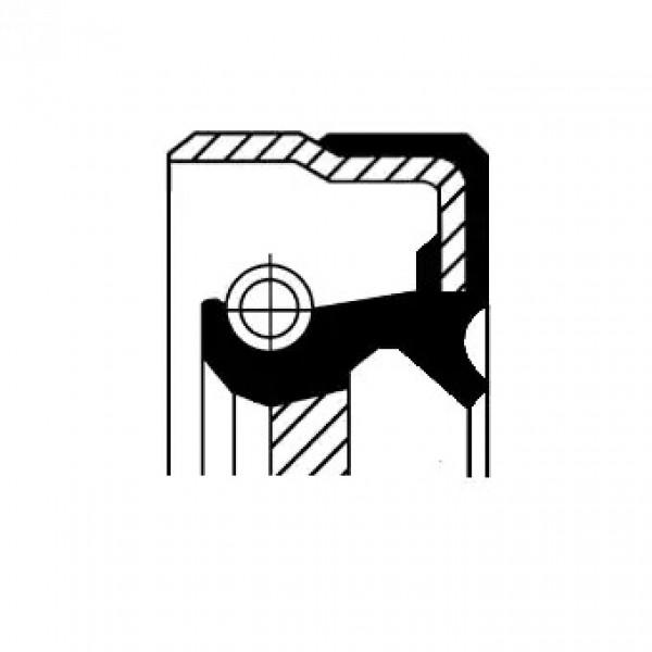 Crankshaft Oil Seal CORTECO 19036807B-00