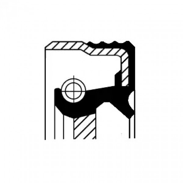 Shaft Seal, manual transmission CORTECO 19036711B-00