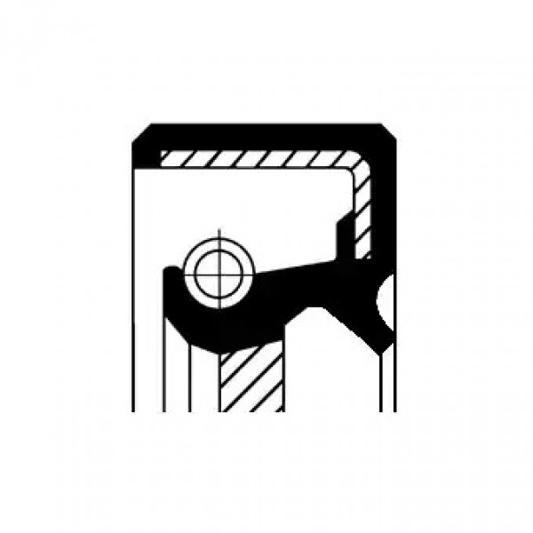 Shaft Seal, camshaft CORTECO 19027628B-00