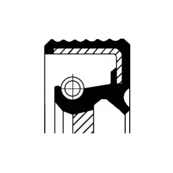 Shaft Seal, camshaft CORTECO 19036888B-00