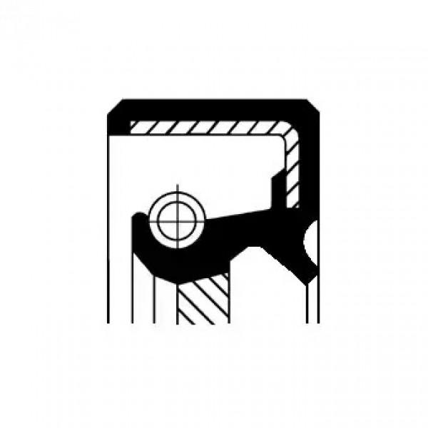 Shaft Seal, camshaft CORTECO 19027629B-00
