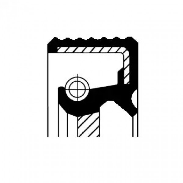 Crankshaft Oil Seal CORTECO 20019851B-00