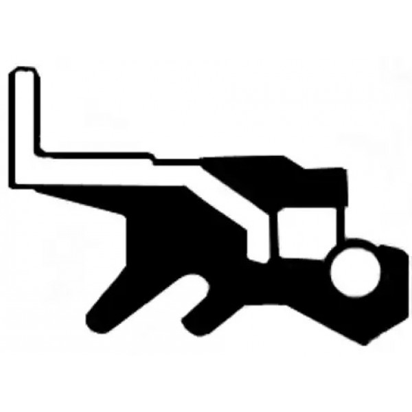 Shaft Seal, manual transmission CORTECO 19033798B-00