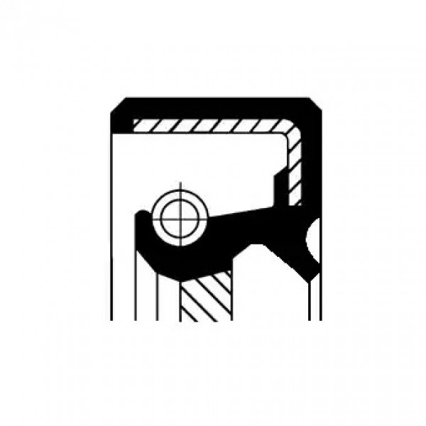 Shaft Seal, automatic transmission CORTECO 19034067B-00
