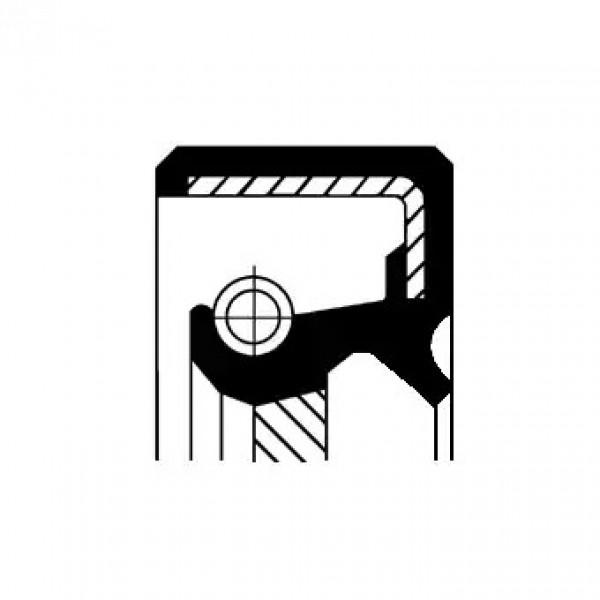 Shaft Seal, automatic transmission CORTECO 19035384B-00