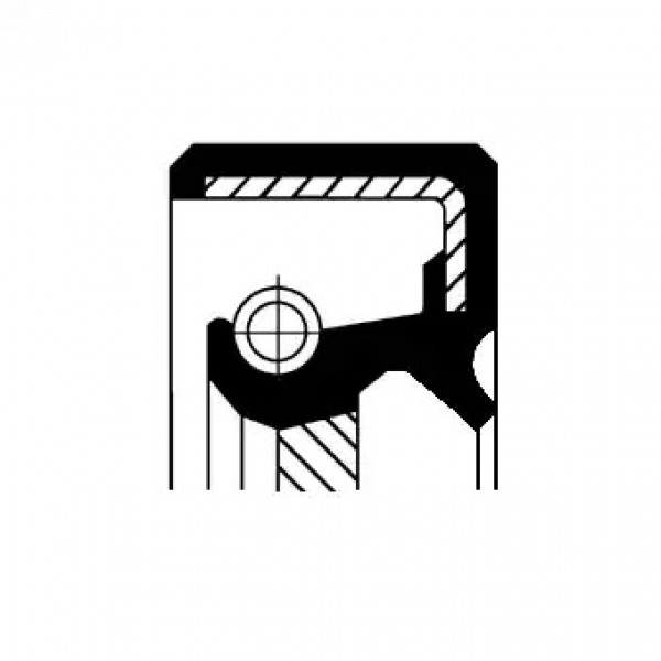 Shaft Seal, manual transmission CORTECO 19027874B-00