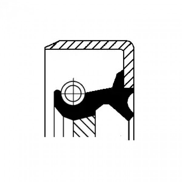 Shaft Seal, automatic transmission CORTECO 19026311B-00