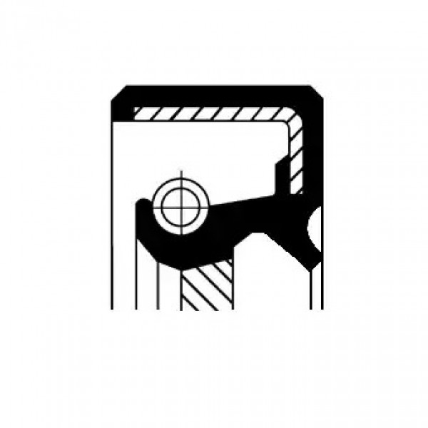 Shaft Seal, manual transmission CORTECO 19035354B-00