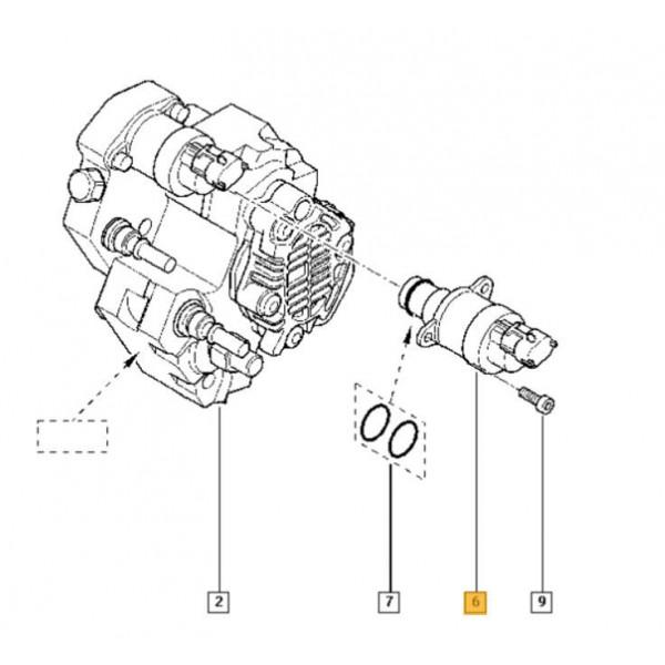 bosch fuel pressure regulator for vauxhall movano, vivaro, nissan  primastar, renault espace, megane, trafic