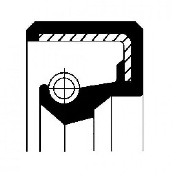 Shaft Seal, wheel hub CORTECO 19027876B-00
