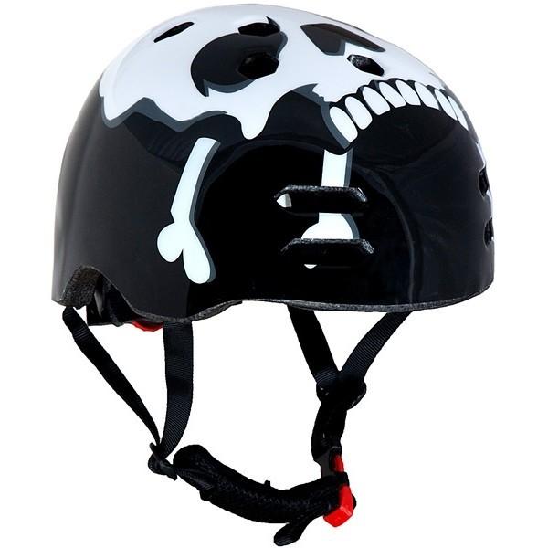 The Skull Black BMX Helmet 56-58cm-00