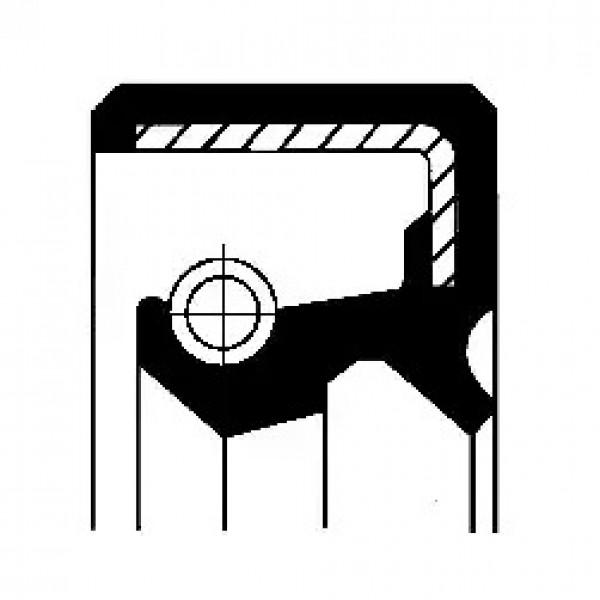 Shaft Seal, wheel hub CORTECO 19033797B-00