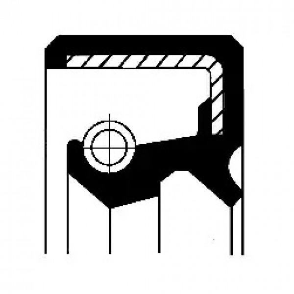 Shaft Seal, manual transmission CORTECO 19026212B-00